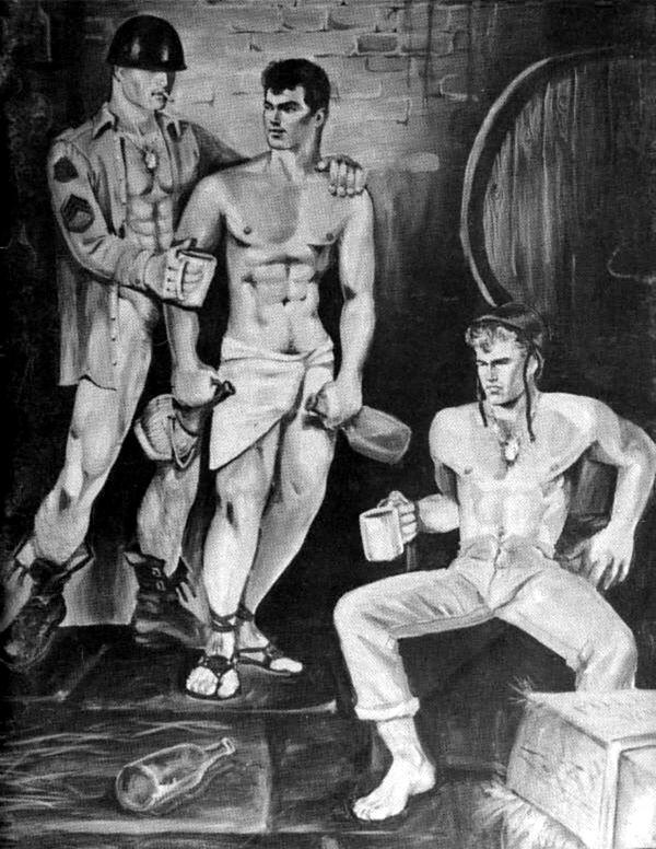 gay drawing Etienne