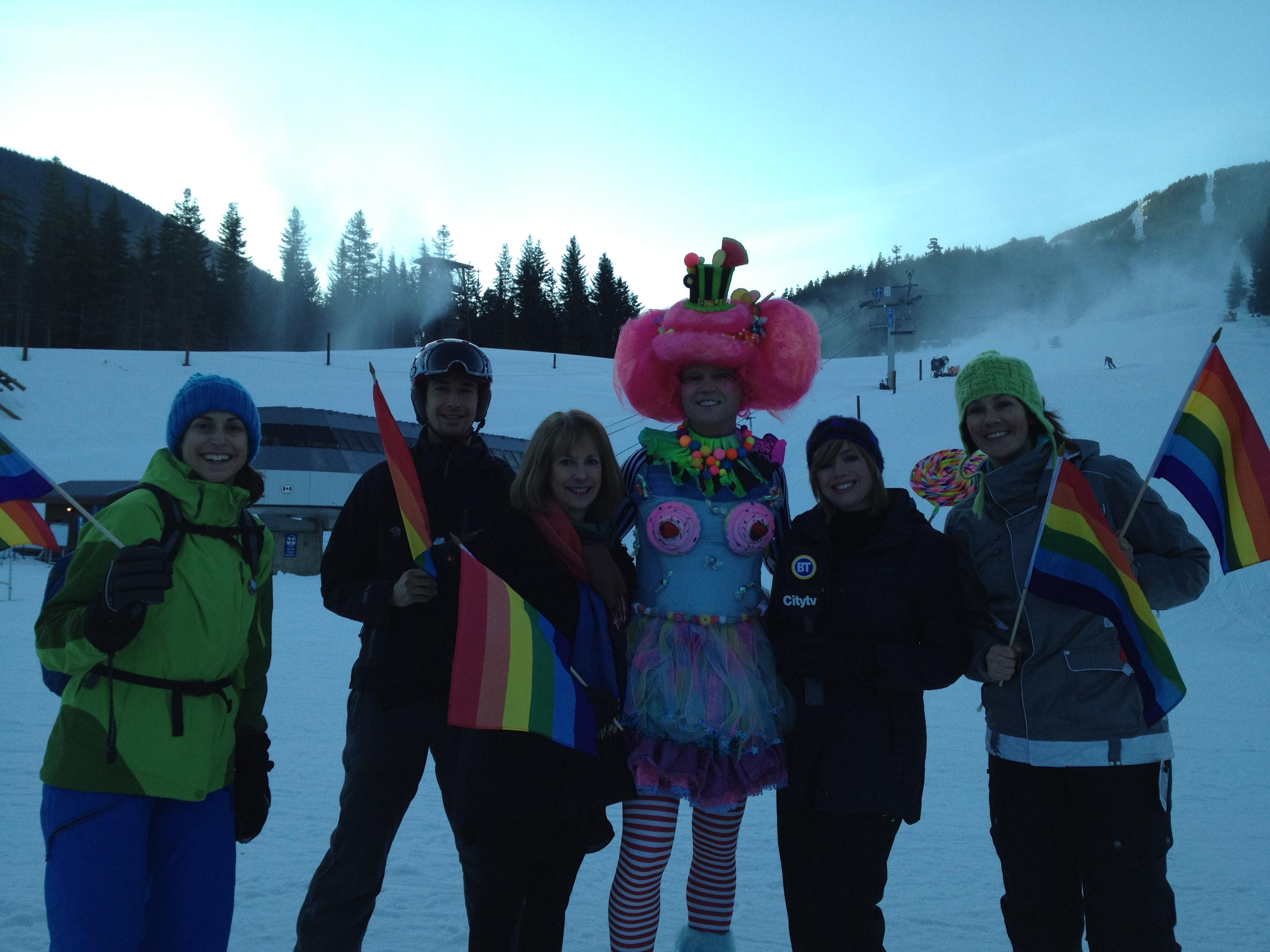 from Joey whistler gay ski week 2009