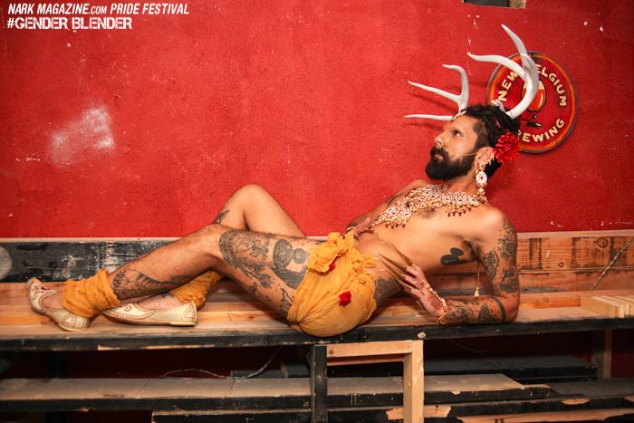 Zak apparently escaped from the Ramayana... Photo: Rachel Robinson/Nark Magazine