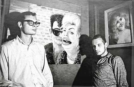 The Artists known as The Kuchar Brothers, George and Mike, circa 1960.
