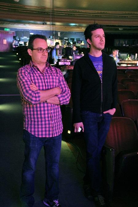 Michael & Alan. Photo: Jeff Carpenter.