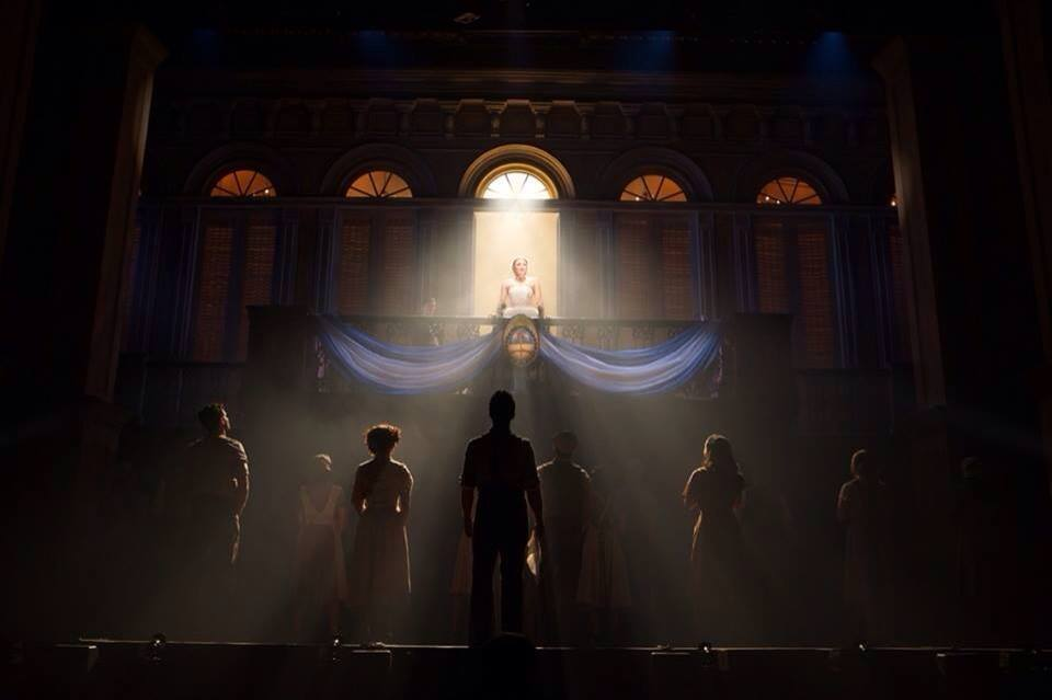 Evita at The Paramount through Sunday, January 5, 2014. Photo: Richard Termine