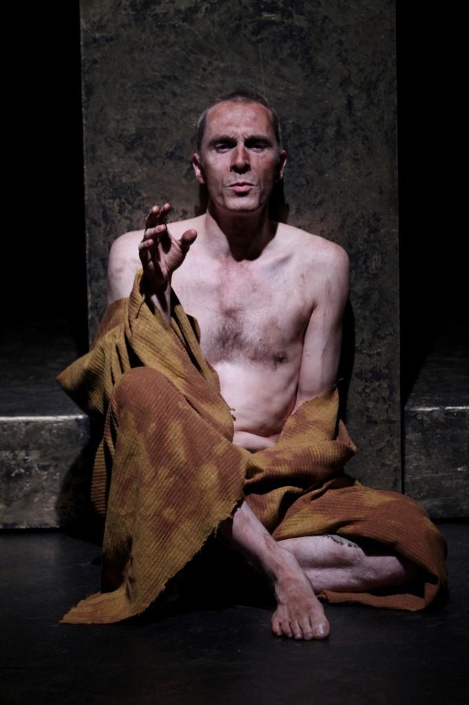 "George Mount in Seattle Shakespeare Company's 2014 production of ""Richard II."" Photo by John Ulman."