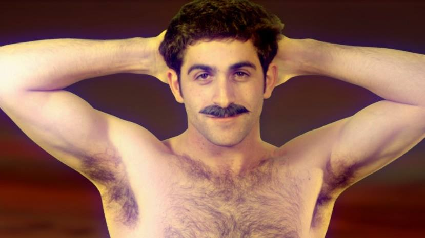 Seattle actor Jonathan Crimeni's armpits are just one of the many assets in Wes Hurley's new webseries CAPITOL HILL set to debut March 2014.