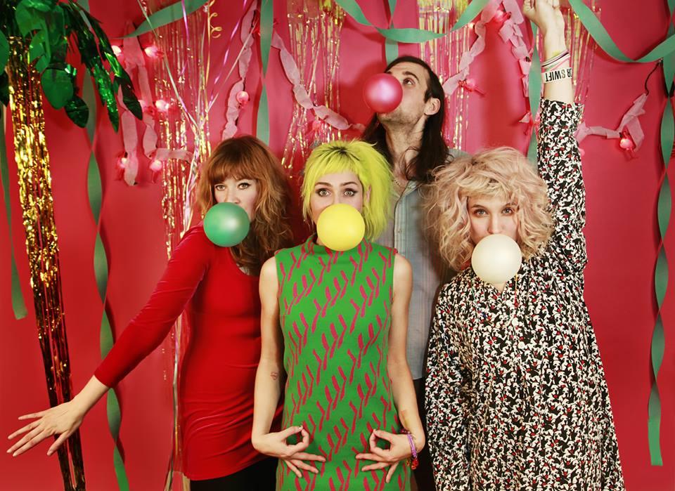 The local palindromic band known as Tacocat will perform Saturday, 4/12 at 'Mo Wave at Chop Suey. Photo: Kelly O