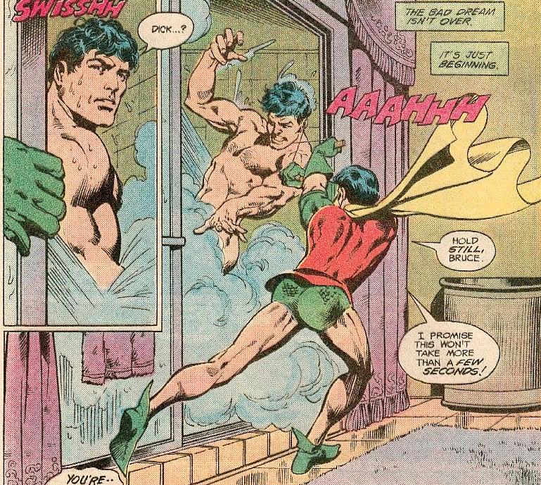 Dick Batman Shower