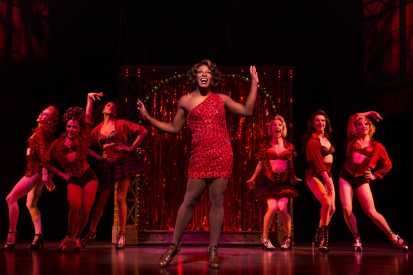 The cast of the First National Tour of Kinky Boots, coming to The 5th Avenue Theatre. Credit Matthew Murphy
